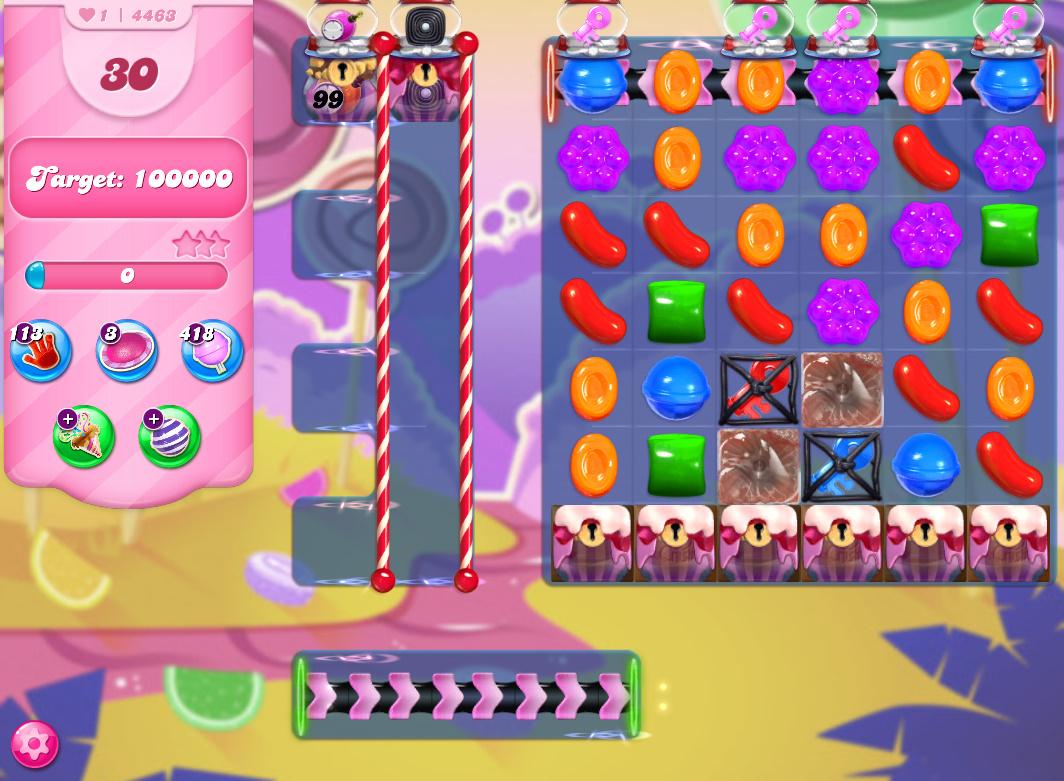 Candy Crush Saga level 4463