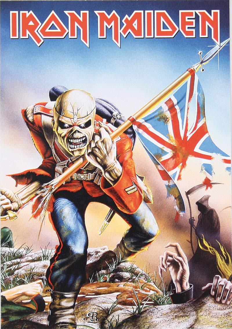 Corazón de Canción: Iron Maiden - The Trooper (letra en inglés y ...