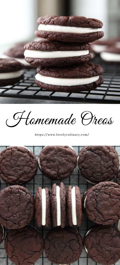 Homemade Oreos #desserts #oreocakerecipe