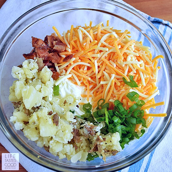 Loaded Baked Potato Dip | by Life Tastes Good