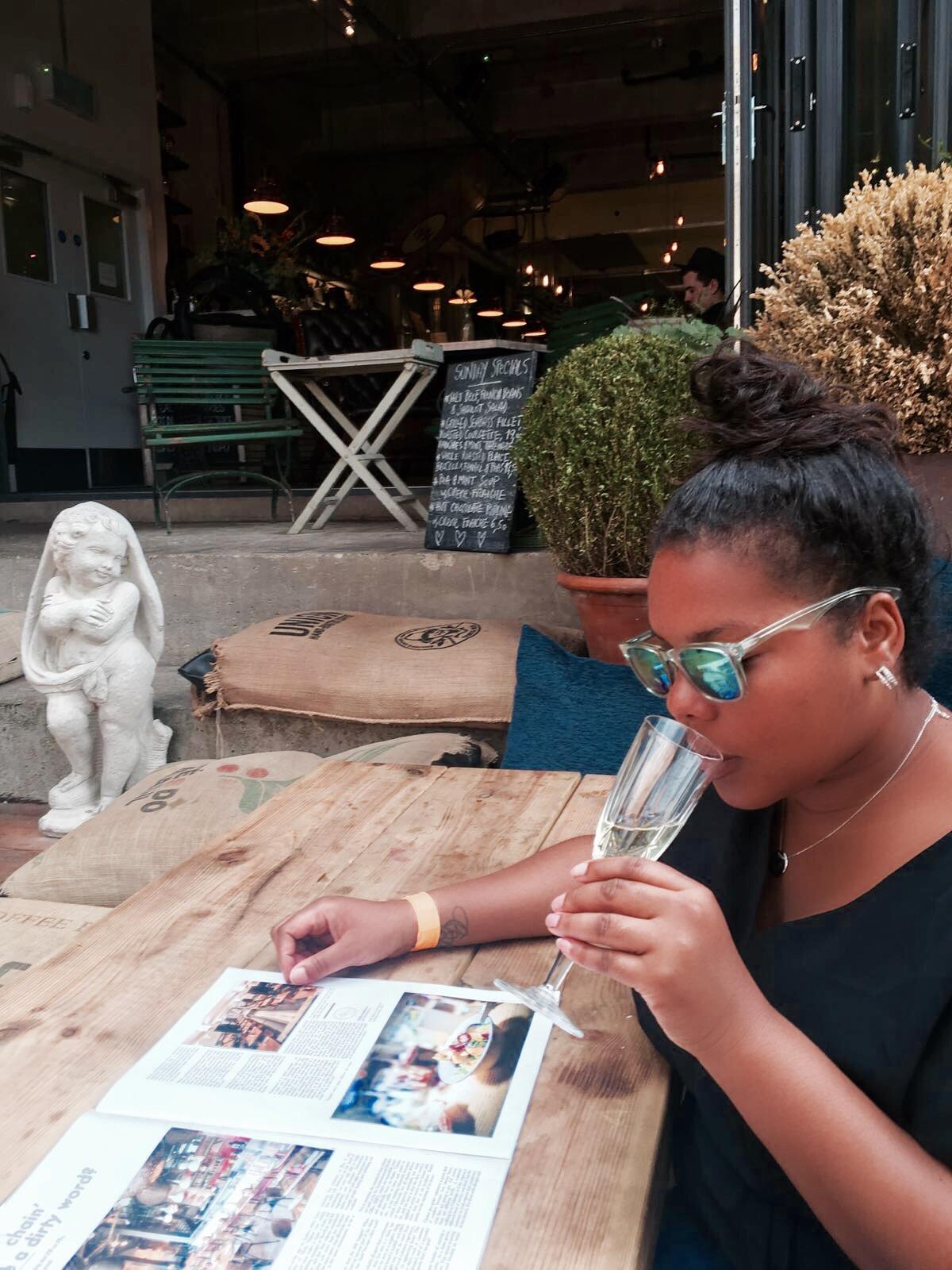 Sunday's Bottomless #Brunch at .@Wringer_Mangle #BrunchReview #Foodbloggers #BloggingGals
