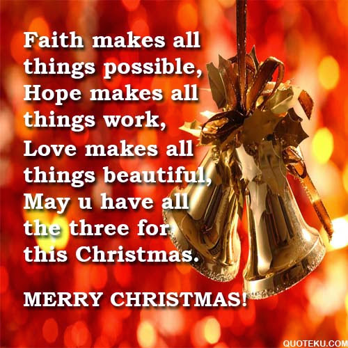 Merry Christmas and Happy New Year Quotes and Greetings