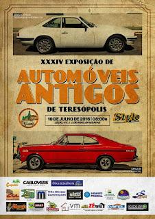 Teresópolis se prepara para 34ª exposição de automóveis antigos com organização do Clube Amigos do Antigo
