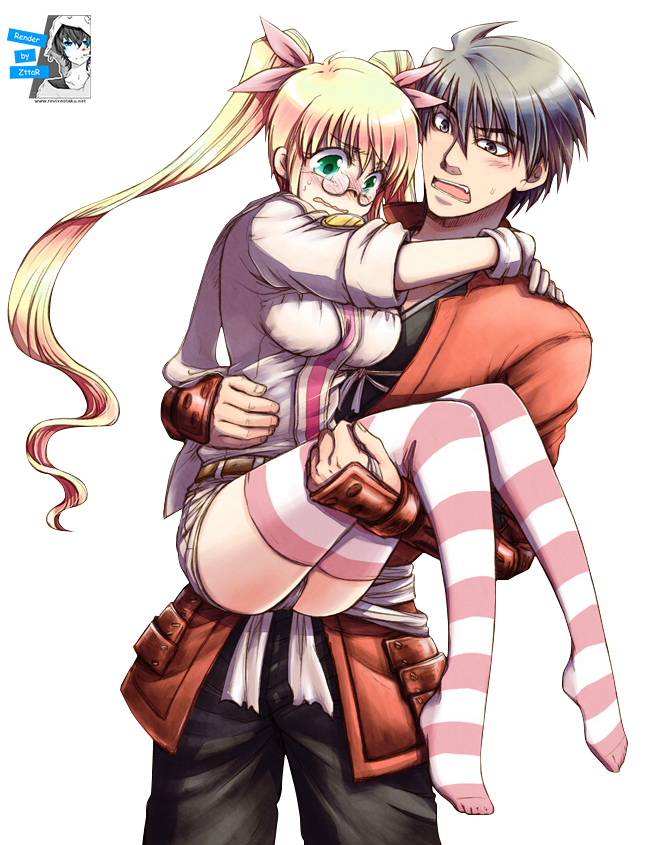 Render Shimazu Toyohisa & Olmine