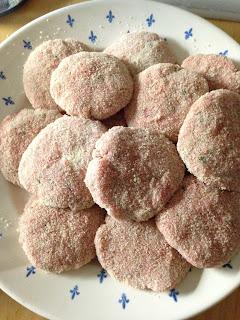 Filetes Rusos, preparación 1