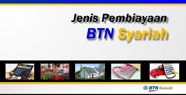 jenis-pinjaman-bank-btn-syariah