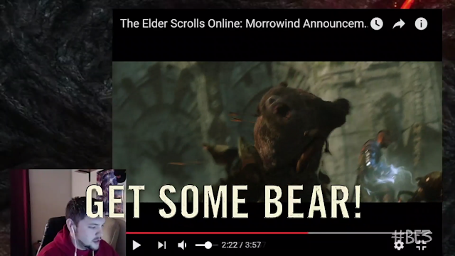 Bears The Elder Scrolls Online Morrowind Bethesda E3 2017