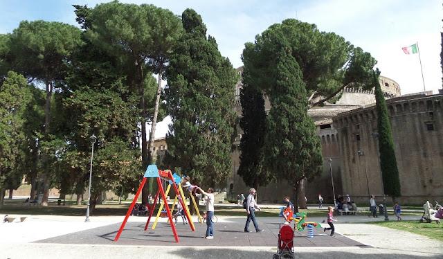 Conheça a Villa Borghese com as crianças em Roma