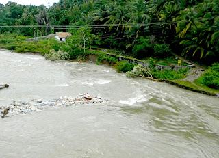 Proyek Intake Ancam Tebing Krueng Baru Wilayah Abdya