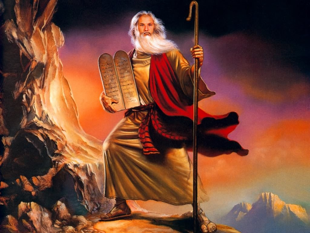 Moses the Leader of Ancient Israel on Exodus Wallpaper for ...