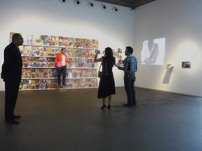 Liu Bolin, Happening en Caracas en la Galería Freites, Fotografía Gladys Calzadilla
