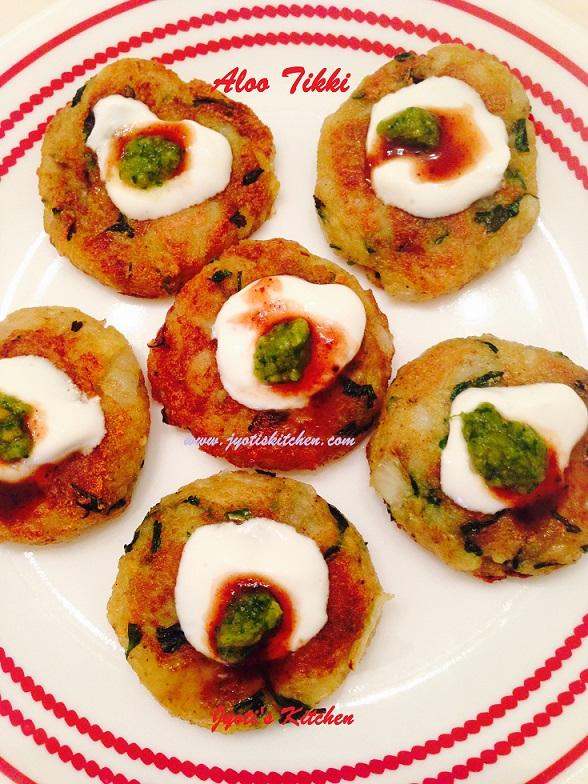 Aloo Tikki Recipe Potato Tikki Recipe