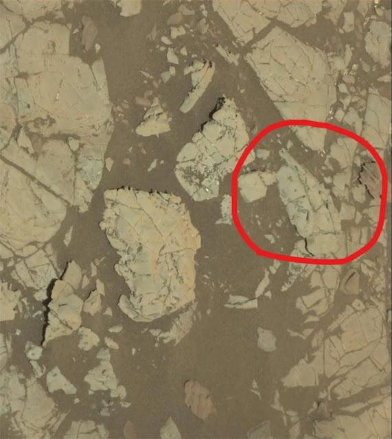 Imagem feita pela MastCam da sonda Curiosity em dezembro de 2017 - NASA - JPL-Caltech - MSSS