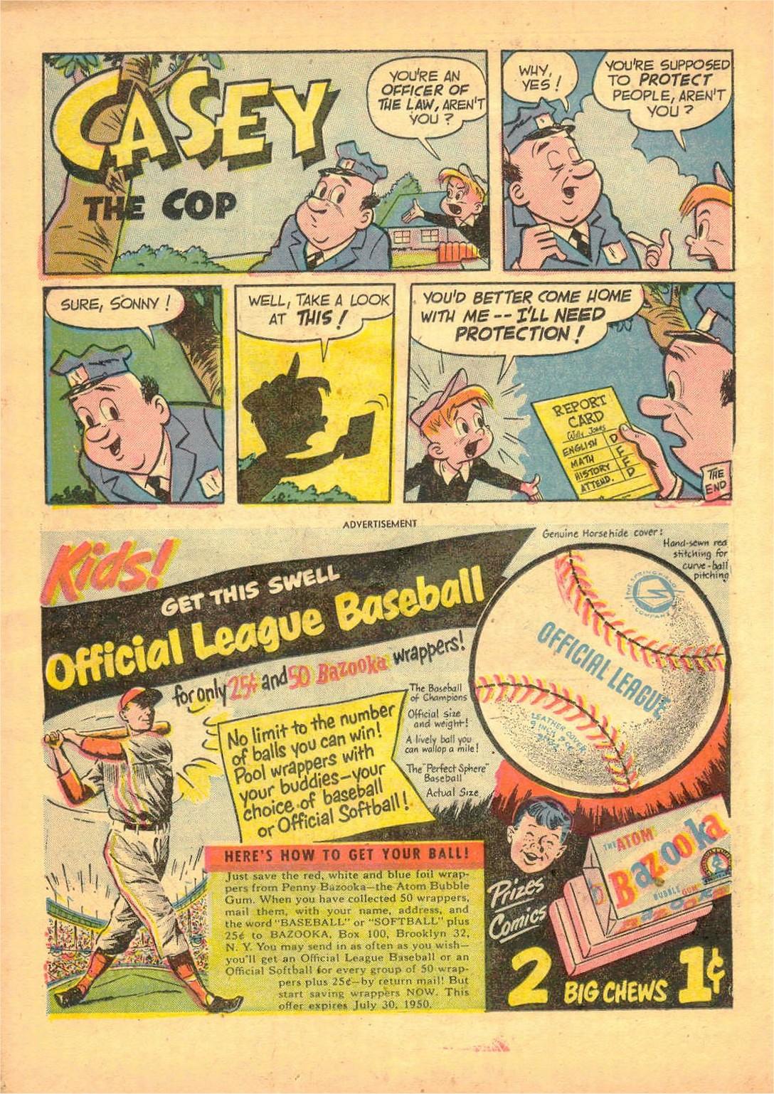 Read online Detective Comics (1937) comic -  Issue #161 - 38