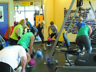 Ten health and fitness clubs in the United States
