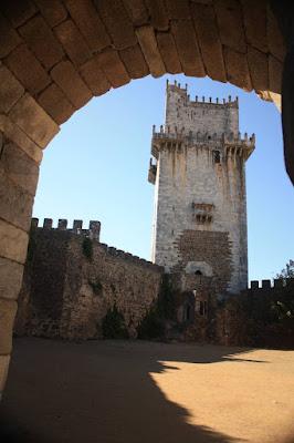 Castle of Beja in Portugal