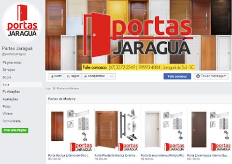 Conheça nossa loja virtual no Facebook!