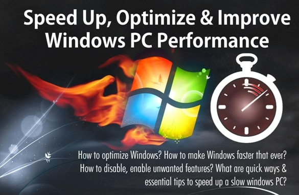 Tips to Speed Up, Optimize & Improve Windows PC Performance