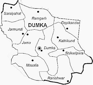 dumka map