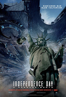 "Poster do filme ""Independence Day: O Ressurgimento"""