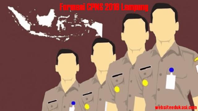 Formasi Seleksi CPNS 2018 Lampung