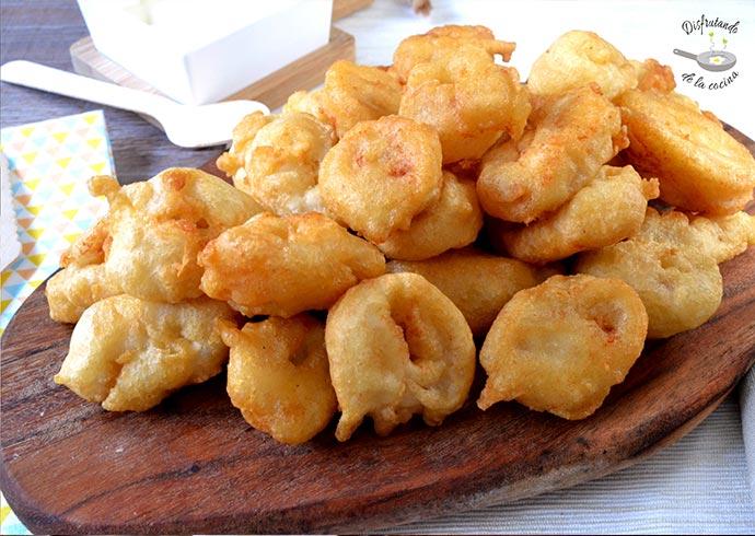 Calamares a la la Romana caseros, crujientes y esponjosos (Receta fácil)