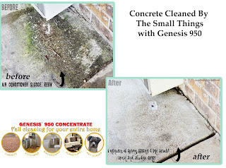 how to remove stains from cement