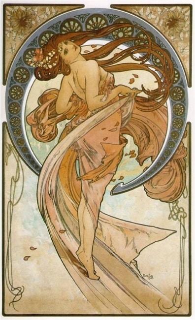 Berbagai Macam Aliran Gaya Style Desain Grafis/Graphic Design Style - Art Nouveau Style
