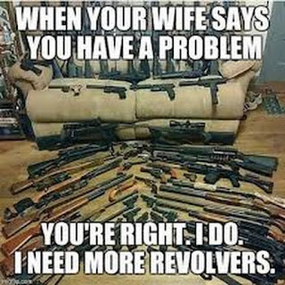 When you wife tells you that you have a problem