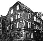 Haus der Familie Luckemeyer in Elberfeld (heute Wuppertal, Bild von 1943)