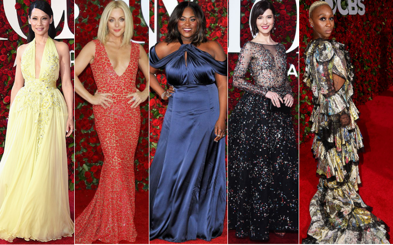 bbloggersca, bbloggers, fbloggers, tony awards, best dressed, red carpet, broadway, dresses, fashion, style, designers