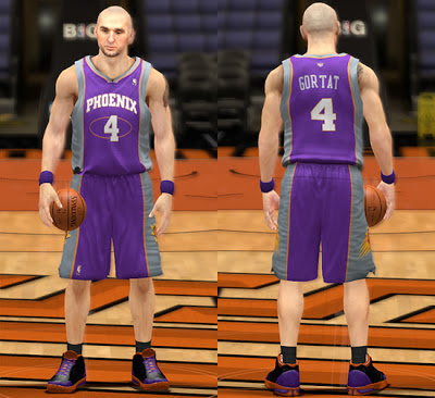 NBA 2K13 Phoenix Suns Away Jersey Patch