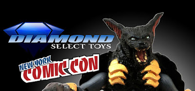 New York Comic Con 2018 Exclusive Battle Beasts Desmodius Minimates Mini Figure by Diamond Select Toys