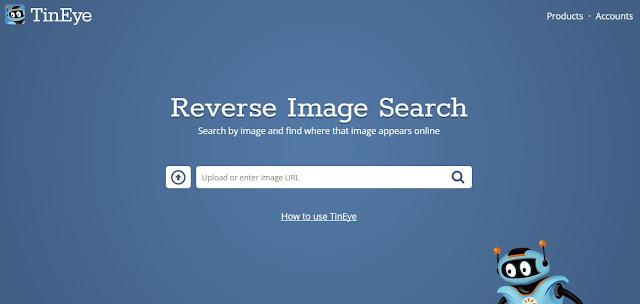 tineye موقع يسمح لك بمعرفة اصل اي صورة