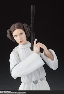 "S.H.Figuarts Princesa Leia de ""Star Wars Episode IV: A New Hope"" - Tamashii Nations"