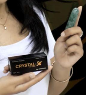 Jual Crystal X di Medan