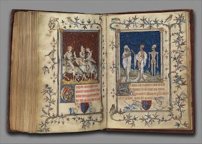 Salterio di Bona di Lussemburgo, del 1345-1350 (New York, Metropolitan Mus. of Art).