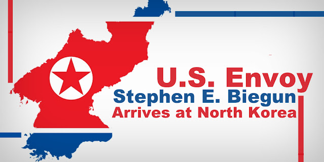 US Envoy Stephen E. Biegun Arrives at North Korea