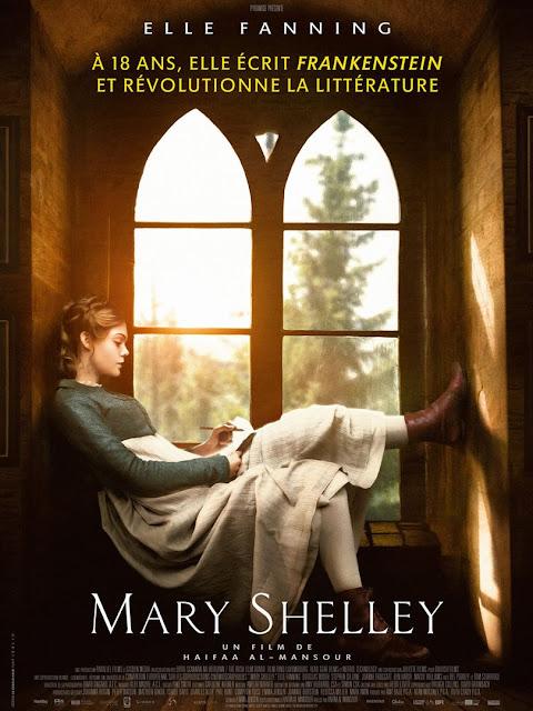 Mary Shelley film L'Agenda Mensuel - Juillet-Août 2018