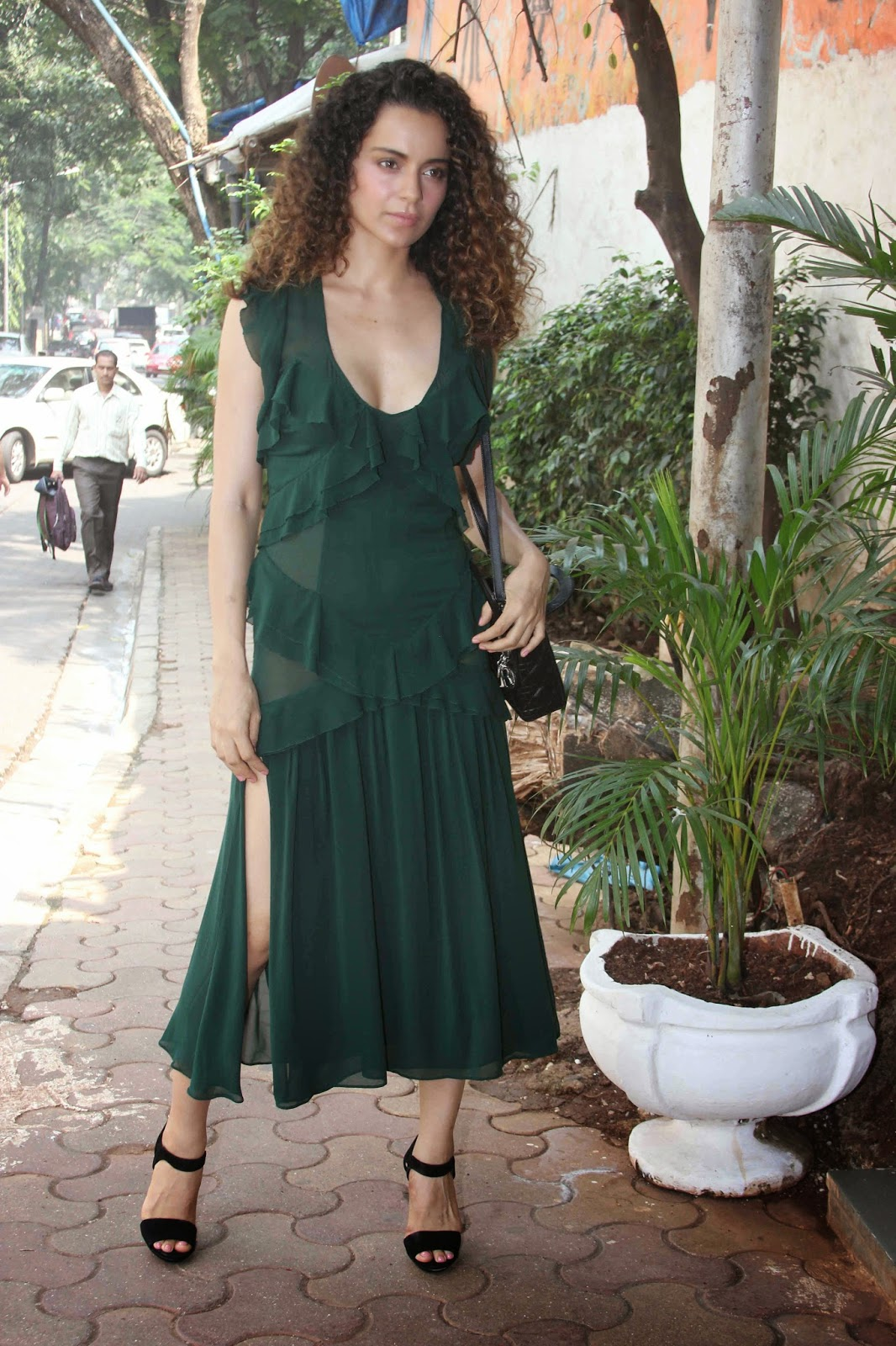 Kangna Ranaut at the Promotions of A Small World