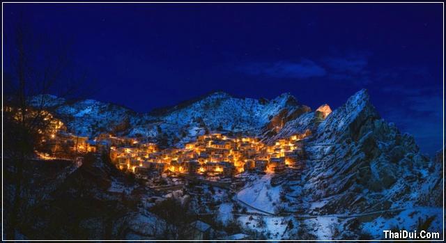 ảnh khu dân cư mùa đông