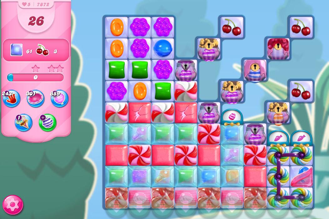 Candy Crush Saga level 7872