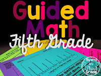 Guided Math Year Long Resources for 5th Grade
