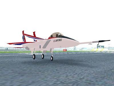 avião f-15 funcional para gta sa