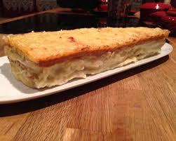Cake au croque mosieur