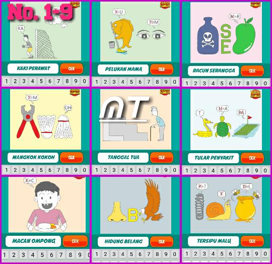 Jawaban Tebak Gambar Level 14 Nomor 1 Berbagi Cerita