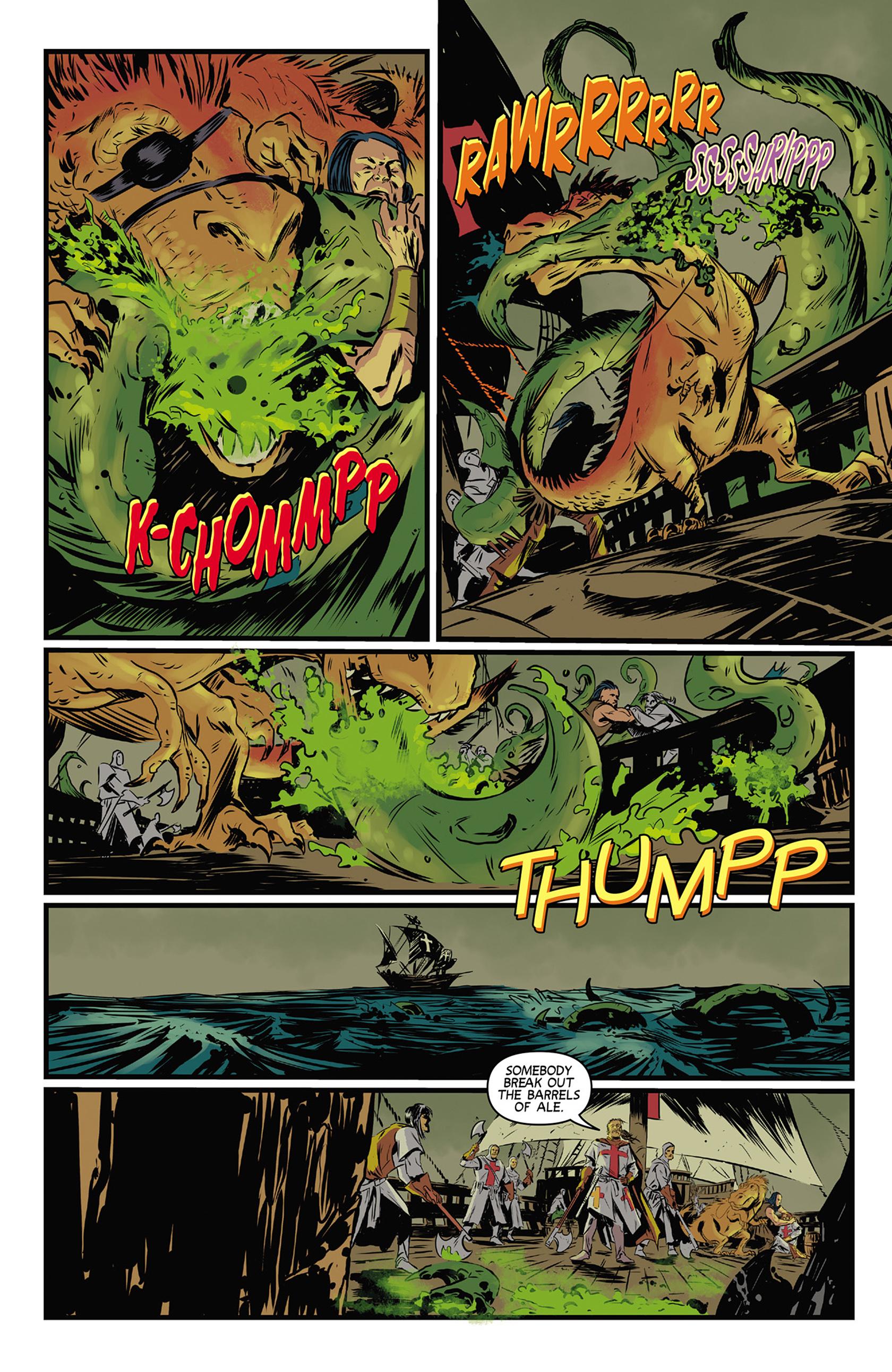 Read online Turok: Dinosaur Hunter (2014) comic -  Issue #9 - 20