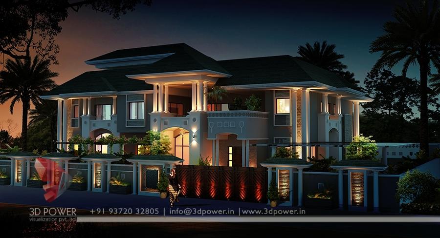 Ultra Modern Home Designs | Home Designs: 3D Exterior Home ...