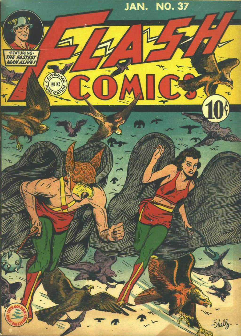 Flash Comics 37 Page 1