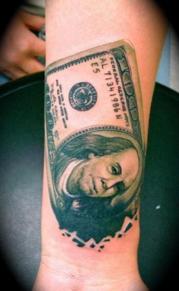 Money Tattoos3D Tattoos